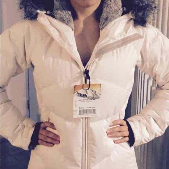 ❤️SOLD❤️ Columbia omni heat lay D down jacket NWT