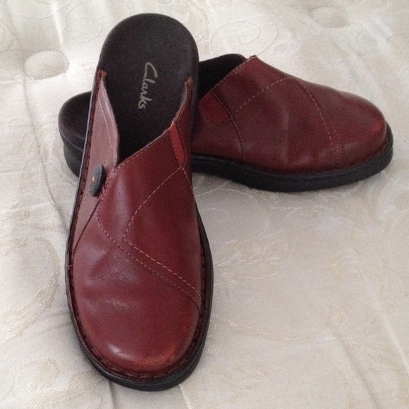 Red Mules Shoes Womens