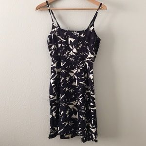 Roxy navy and white floral dress