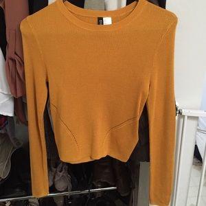 🚫SOLD H&M crop sweater