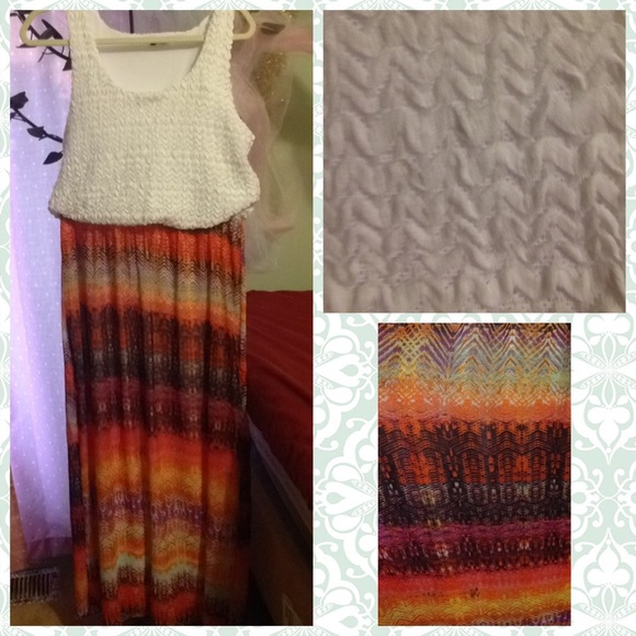 Summer maxi dress - plus size beauties