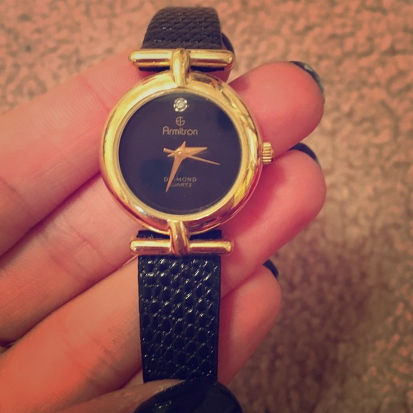 Jewelry - Armitron diamond quartz watch