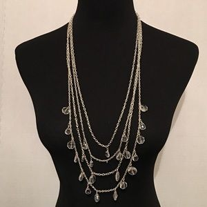 4 strand layered necklace