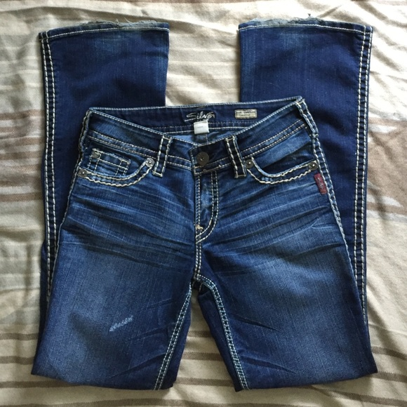 Silver Jeans - Silver 'Suki Surplus Bootcut' Jeans from Marcia's ...