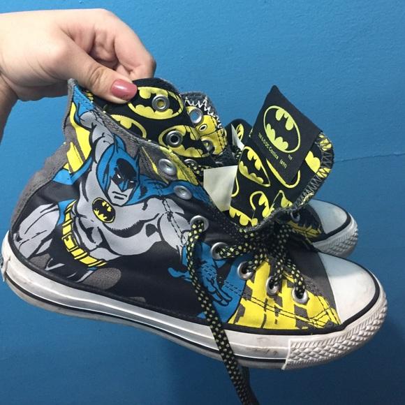 bd6e603c3fa62a Converse Shoes - Limited Edition Batman Comic Book Converse