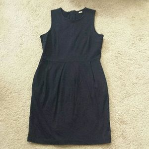 J. Crew Dresses - Navy shift dress