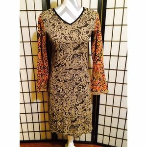 Custo Barcelona Paisley Dress
