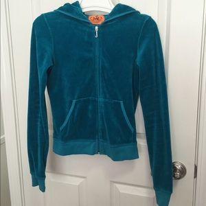 Juicy Couture Turquoise Sweater
