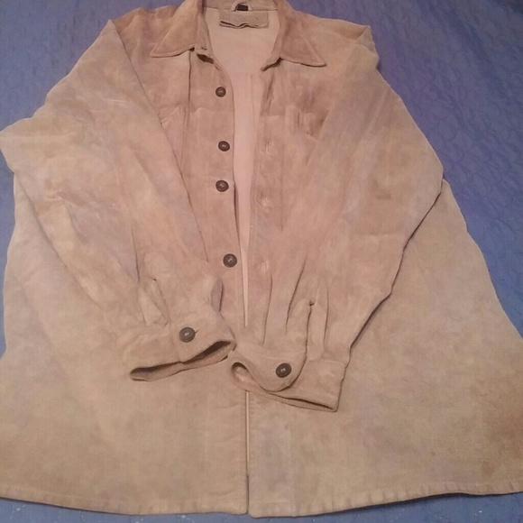 50 Off Claiborne Other Mens Suede Shirt Style Jacket