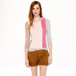 J. Crew Sweaters - J. Crew Merino Wool Texture Panel Sweater.