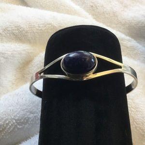 Jewelry - Sterling silver lapis bracelet