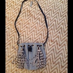 River Island Handbags - 🆕 River Island Bucket bag with fringe details