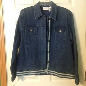 Alfred Dunner Jackets & Blazers - Jean jacket!!