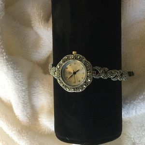 Jewelry - Sophisticated marcasite  watch