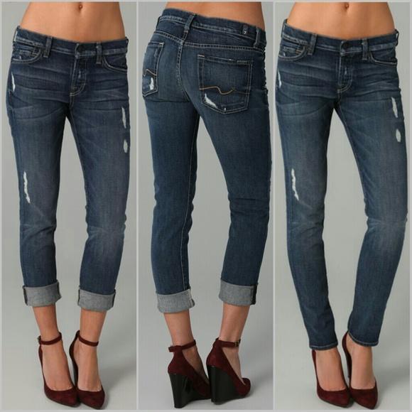 4f1f9617e35 7 for all Mankind Jeans | Josefina Skinny Boyfriend | Poshmark