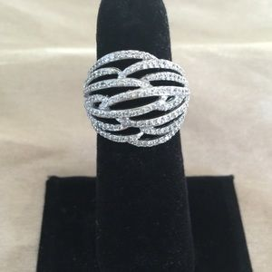 Sterling Silver 925 stamped ring