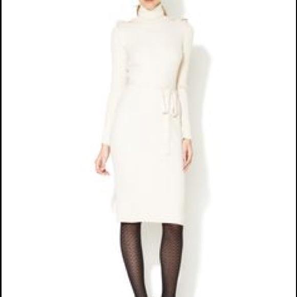 Wool Turtleneck Dress