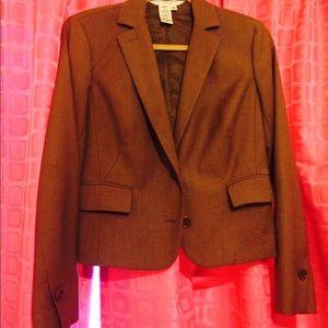 Studio M Jackets & Blazers - Brown blazer with button cuffs