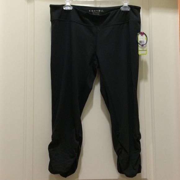 Soybu Womens Jennisa Capri Pants