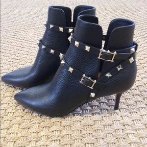 ISO: Valentino Rockstud Ankle Boots | Size 36.5