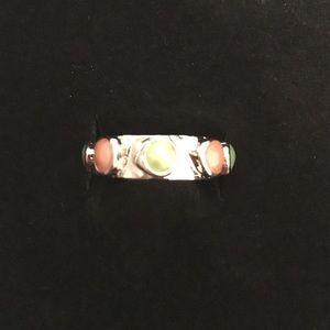Jewelmint Jewelry - Silver Jewel mint ring