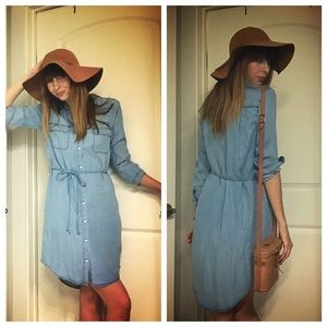 HOST PICK! C&C California denim shirt dress