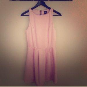 Blush ASOS skater dress
