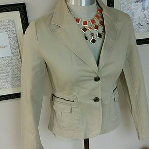 Relativity Jackets & Blazers - Host Pick!!PRICE DROP ! Relativity jacket in taupe