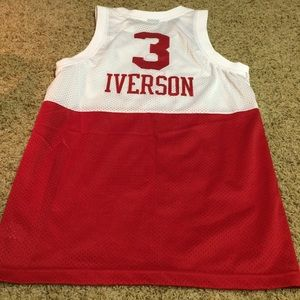 separation shoes adee2 fc934 Allen Iverson A. I. Throwback jersey