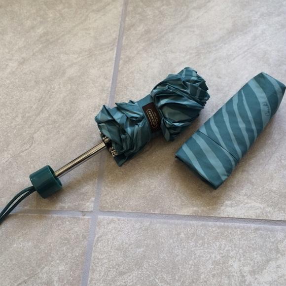 Coach Accessories - Authentic coach zebra print umbrella