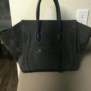 replica handbags celine - 84% off Celine Handbags - Celine Phantom Anthracite in midnight ...