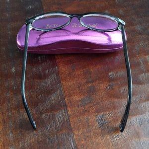 efbad77a60 Betsey Johnson Accessories - Betsey Johnson black cat eye glasses   case