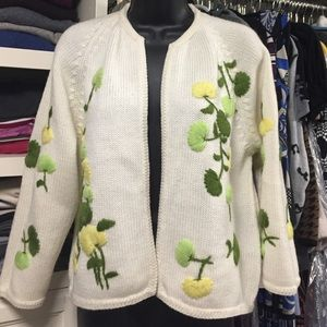 Lilly of California Vintage Sweater Cardigan