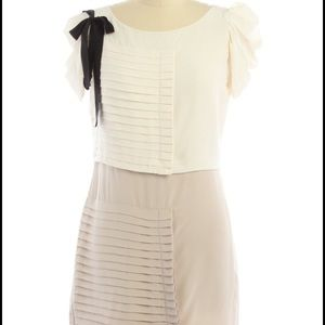Club Monaco Tiered Ribbon Dress Size 4