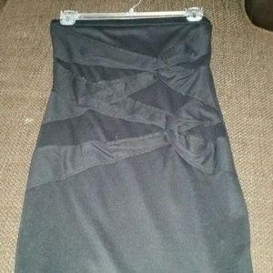Mini Black Halter dress