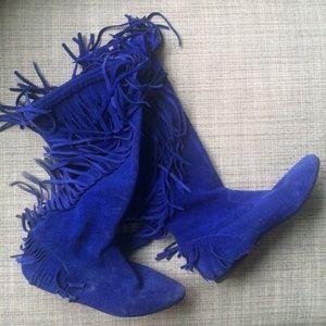 ccc20436664842 Sam Edelman Shoes - Sam Edelman Blue Suede