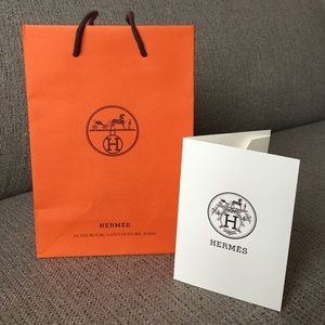 best hermes replica website - Hermes - Hermes small shopping bag with receipt holder from Ria's ...