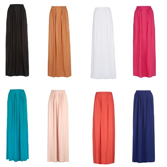 904ca08132 NEW Orange New Look Maxi Skirt UK6/US2 NWT