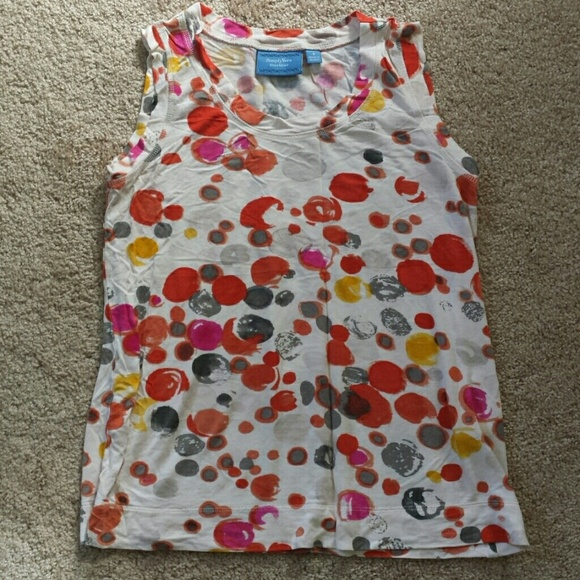 Simply Vera Vera Wang Tops - Print tank top