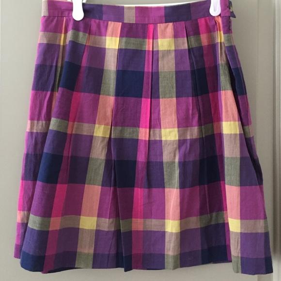 29fba2a067 Isaac Mizrahi Skirts | Plaid Skirt | Poshmark