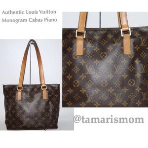 Louis Vuitton Monogram Cabas Piano Handbag