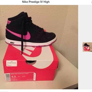 Women s Nike Prestige Iv High on Poshmark 18ad617fae