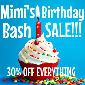 30% OFF EVERYTHING SALE!!!