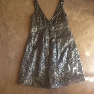 ABS Collection grey party dress