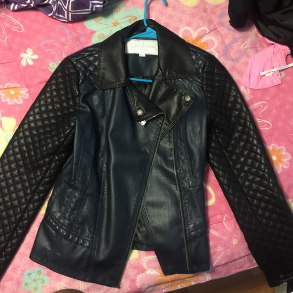 hot-selling official classic style of 2019 amazing selection Jessica Simpson leather jacket