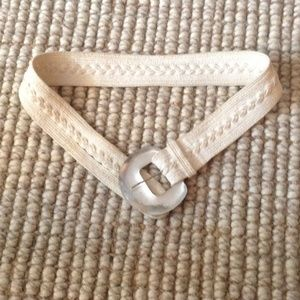 Hand Carved Alexis Bittar Belt