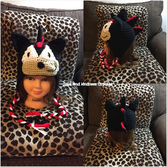 Accessories Shadow The Hedgehog Hat From Sonic Poshmark