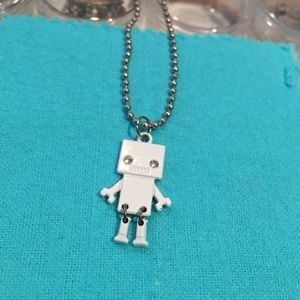 Hot Topic Jewelry - Robot necklace