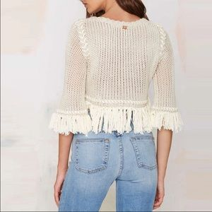 Cute fringe sweater