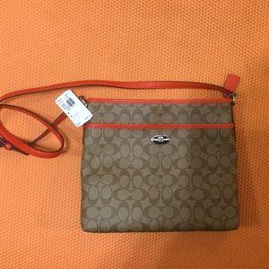 Coach Bags - Coach Cross Body Bag Brown   Orange 2523324d7